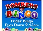 8 tv screens fri bingo
