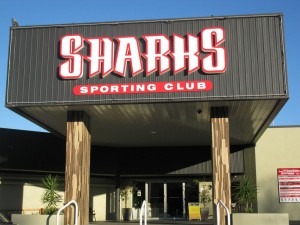 contact sharks club