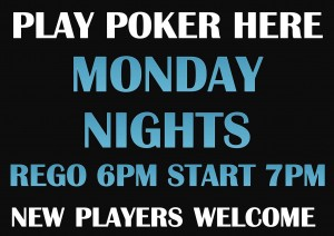 Poker Victoria Point Sharks Redlands Monday