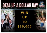 DEAL UP A DOLLAR POSTER - brief