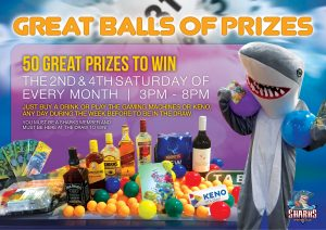 SHARKS Great Balls of Prizes landscape [may2017]